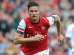 Giroud, fully clothed.
