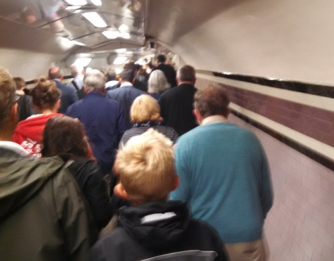 Arsenal station tunnel