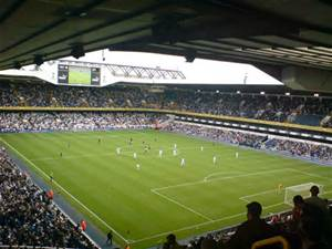 White Hart Lane, unperturbed at this moment
