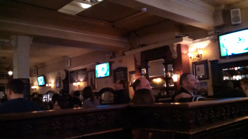 Inside Freemason Arms