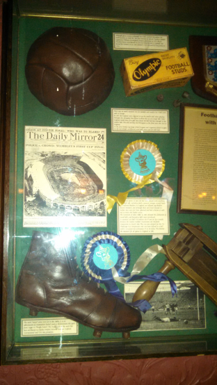 FA Memorabilia at Freemason Arms