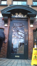 Entrance to Bill's