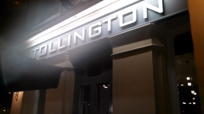 Tollington Arms at night