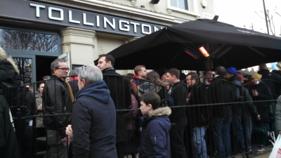 Tollington Arms following Arsenal v. Leicester City