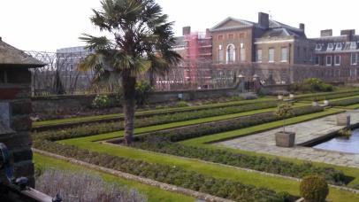 Garden at Kensington Palace